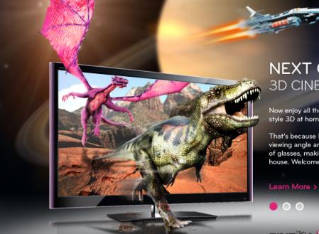 สัมผัสถึงความแตกต่าง เปรียบเทียบระหว่าง: ทีวี LG CINEMA 3D vs. ทีวี 3 มิติแบบทั่วไป