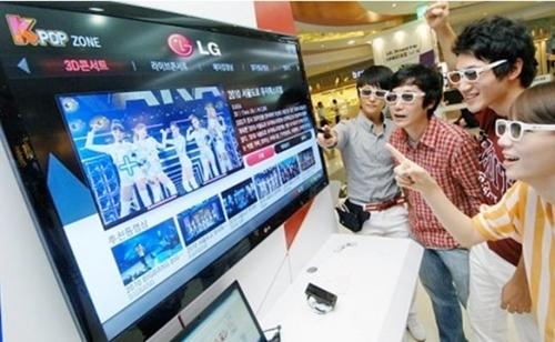 K-POP ZONE : เอ็กซ์คลูซีฟคอนเทนต์ เฉพาะ LG CINEMA 3D Smart TV เท่านั้น!