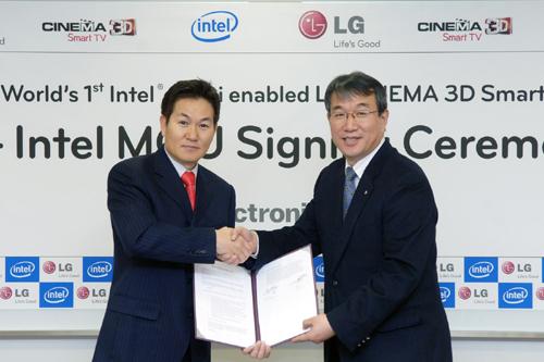 LG จับมือ INTEL ร่วมเป็นพันธมิตรส่งเทคโนโลยี Intel Wireless Display (WIDI) ลง LG Cinema3D
