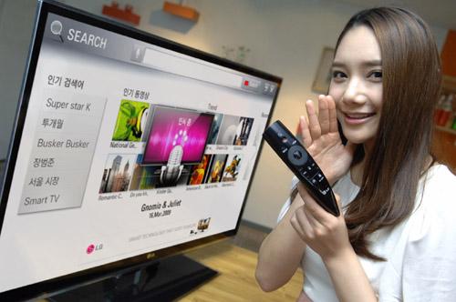 NEW! LG MAGIC REMOTE เพิ่มฟังก์ชั่นเพื่อประสบการณ์การใช้งาน CINEMA 3D ที่ดียิ่งขึ้น