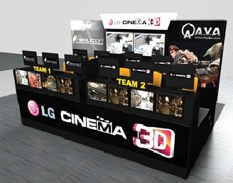 LG Cinema 3D Monitor ร่วมกับ Neolution จัดแข่งขันเกมส์ AVA ในงาน Thailand Game Show 2012