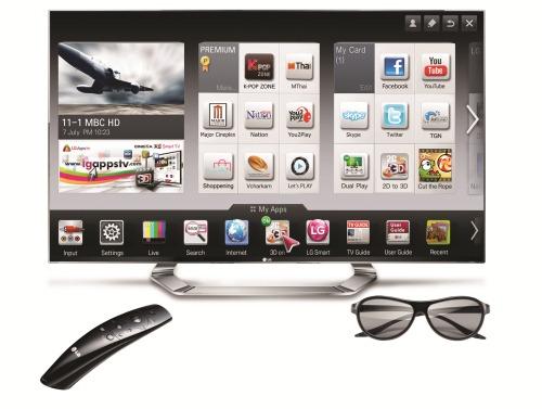 LG CINEMA 3D Smart TV รุ่น LM9600 ผสานที่สุดแห่งเทคโนโลยีภาพสามมิติด้วย NANO FULL LED มอบภาพคมชัด สีสันสวยสมจริงในทุกมิติ