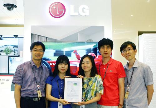 LG CINEMA 3D Smart TV รุ่น 47LM7600 เป็นทีวีเครื่องแรกของโลกที่ได้รับการรับรองด้วยเครื่องหมายสีเขียว จาก TÜV Rheinland