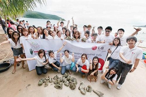 [ PR] แอลจีต่อยอดความมุ่งมั่นสร้างสรรค์โลกสีเขียว ภายใต้โครงการ  'LG Life's Green Life's Good'