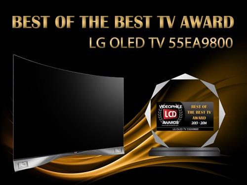 LG Curved OLED TV นำขบวน LG Smart TV รับรางวัลจาก VIDEOPHILE LCDTVTHAILAND AWARD