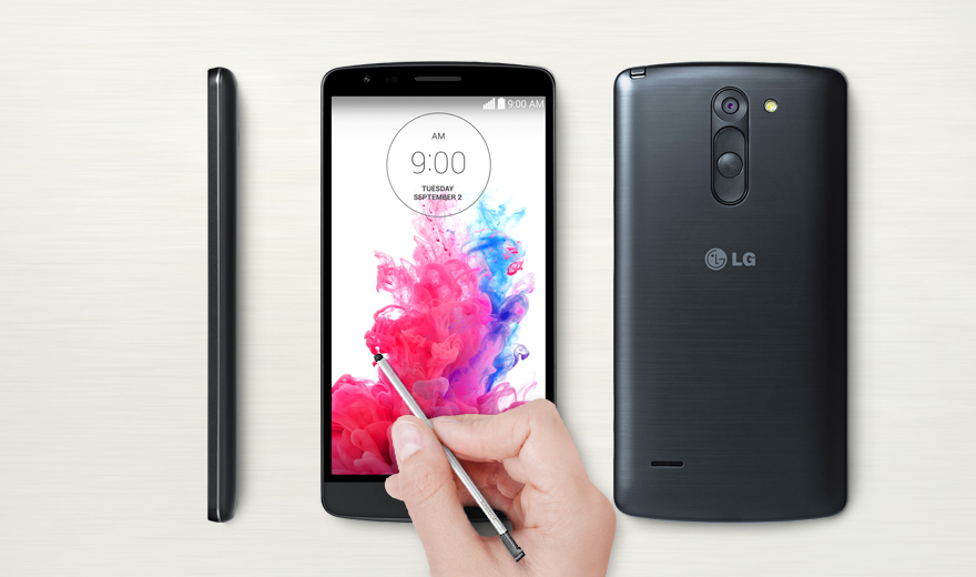 เปิดตัวสมาร์ทโฟนรุ่นใหม่ LG G3 Stylus