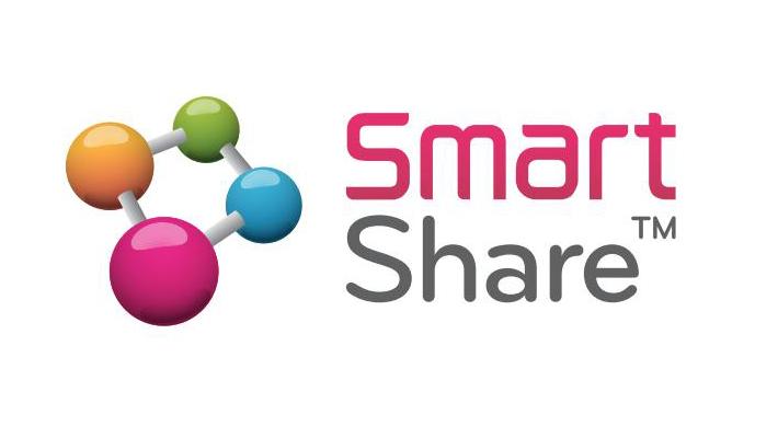 Smart Share ฟังก์ชั่นดี๊ดี….กระหน่ำแชร์คอนเทนต์สู่หน้าจอใหญ่ให้ฟินกระจายทั้งบ้าน