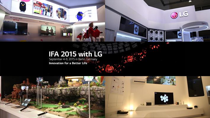 ภาพบรรยากาศแอลจีในงาน IFA 2015