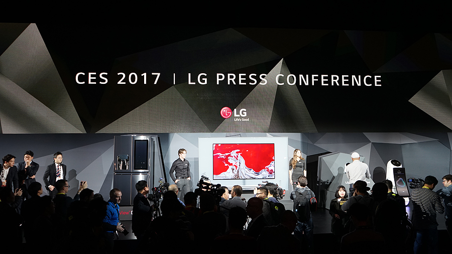 ถอดรหัส LG ในงาน CES 2017