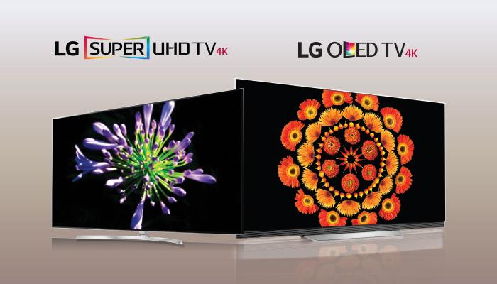 เปรียบเทียบข้อแตกต่างระหว่าง LG OLED TV กับ LG SUPER UHD TV