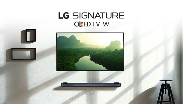 OLED W7 TV