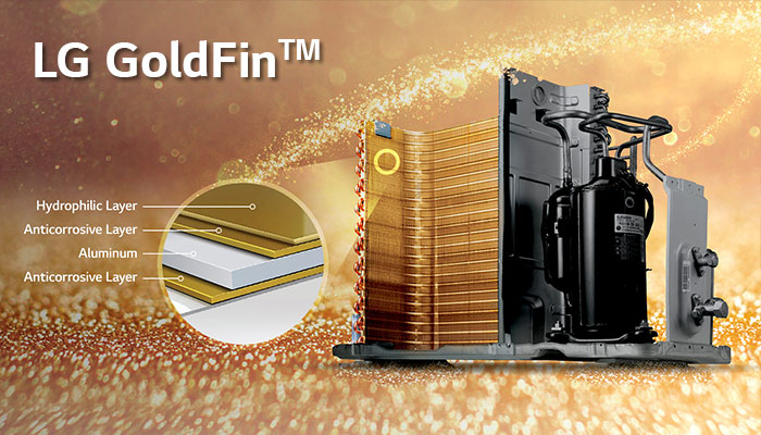 Gold fin