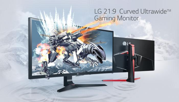 จอคอมพิวเตอร์สำหรับเกมเมอร์ 21:9 Curved UltraWide™ 34UC79G-B