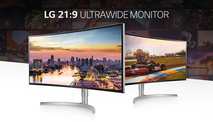 จอคอมพิวเตอร์ LG 38WK95C-W