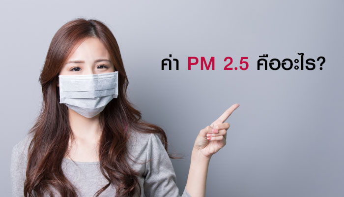 ค่า PM 2.5 คืออะไร