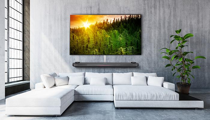 OLED Wallpaper ทีวีไร้ขอบ ภาพคมชัดสมจริง