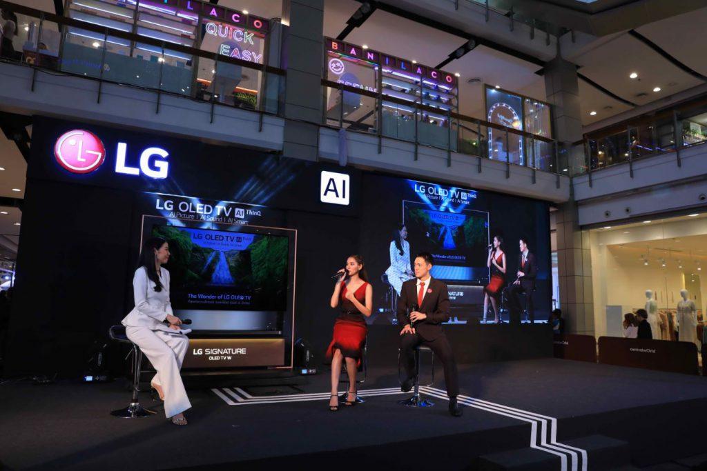 งานเปิดตัว LG OLED TV W9
