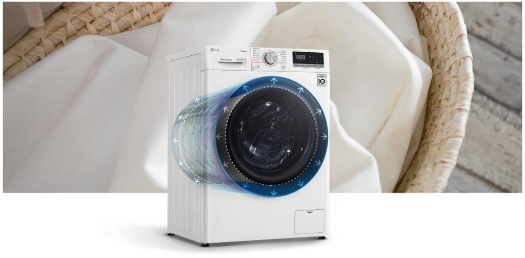 เครื่องซักผ้าเพิ่มความจุในการซัก