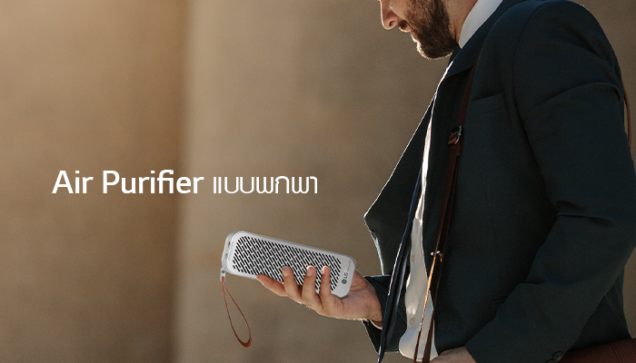 Air Purifier แบบพกพา