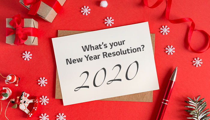 What's your new year resolution? มาตั้งเป้าหมายปีใหม่นี้กัน