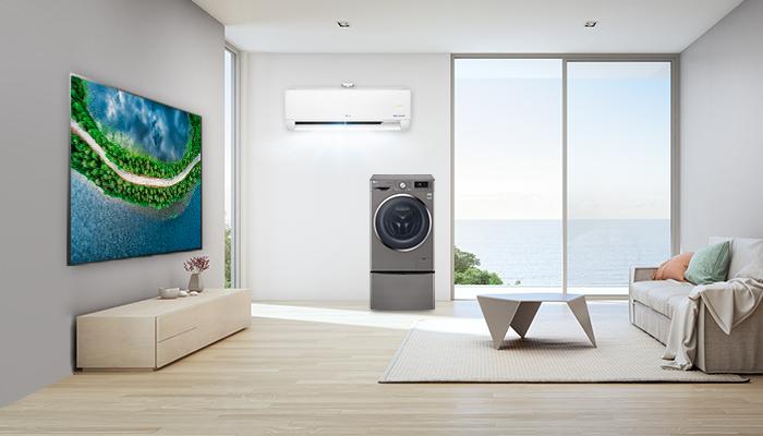 แต่งบ้านทั้งทีต้องสวยและตอบโจทย์ ด้วยเครื่องใช้ไฟฟ้า LG ดีไซน์สวย ฟังก์ชันครบ