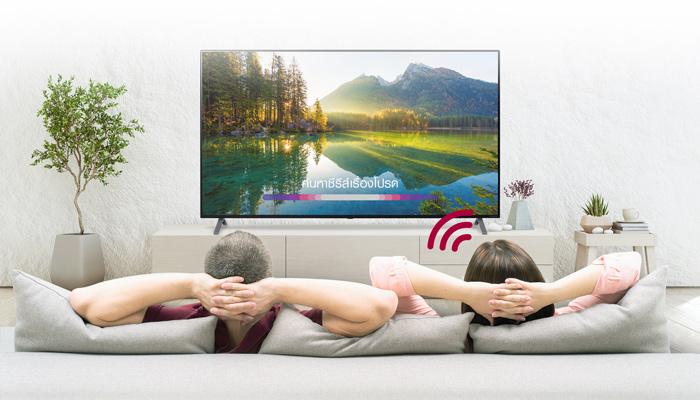 แค่พูด Hi LG ก็สั่งการทีวีได้ดั่งใจ  ด้วย Hand-Free Voice Control สู่ชีวิตใหม่ไร้การสัมผัส