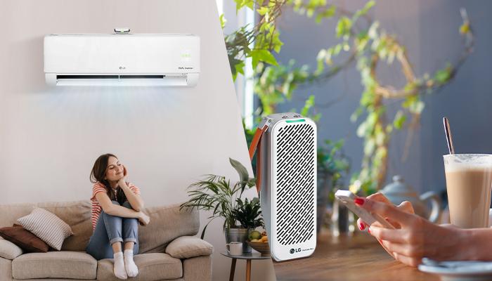 มอบอากาศสะอาดเพื่อคุณในทุกที่ด้วยเทคโนโลยีฟอกอากาศจาก LG