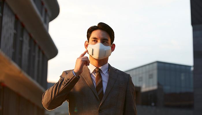 LG Puricare™ Wearable Air Purifier หน้ากากฟอกอากาศแอลจีที่พร้อมมอบอากาศบริสุทธิ์ให้คุณได้ทุกที่