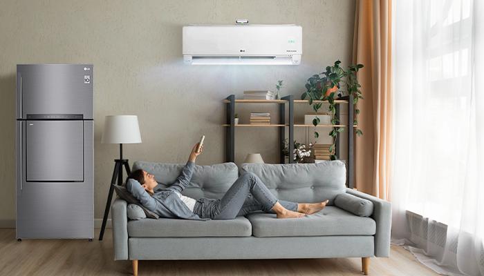 หน้าร้อนนี้เทคโนโลยีเครื่องใช้ไฟฟ้า LG ช่วยคุณได้