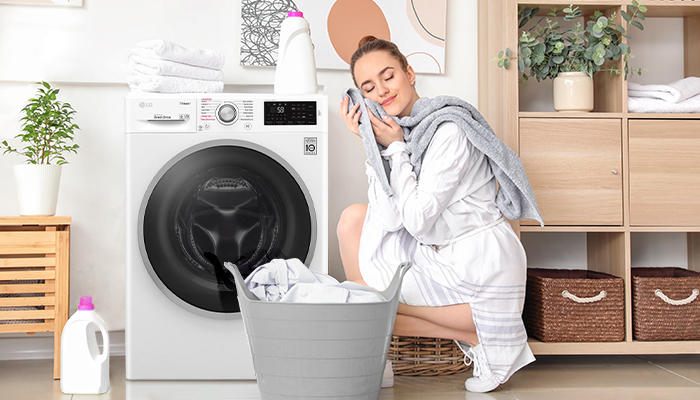 เครื่องซักผ้าLG