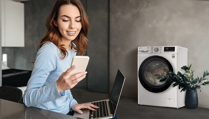 เครื่องซักผ้าฝาหน้า ซักอบ