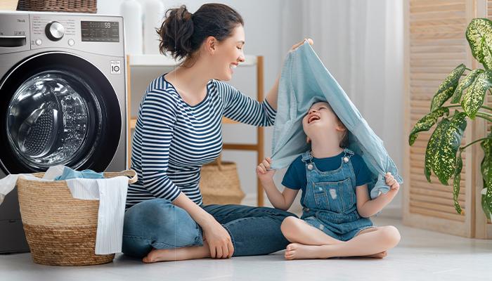 เครื่องซักผ้า LG ระบบ AI อัจฉริยะ! นวัตกรรมถนอมเสื้อผ้าที่คุณรัก
